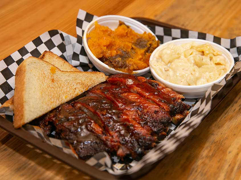 Wiley's Ribs Platter